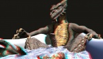 3d_(artwork) 3drb anaglyph anthro bath bathtub digital_media_(artwork) dragon erection hi_res looking_at_viewer male millennium_dragon nude partially_submerged penis scalie solo stereogram water western_dragon wooky