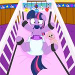 bdsm bound diaper equine female friendship_is_magic fur hair hi_res horn inside mammal multicolored_hair my_little_pony pacifier purple_fur purple_hair restrained solo twilight_sparkle_(mlp) two_tone_hair unicorn unknown_artist young  Rating: Safe Score: 6 User: Wumbl3 Date: May 09, 2015