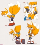 anal anal_penetration avoid_posting balls belly_shirt belt bent_over blush bulge butt canine chest_tuft collar color cute ear_tuft fox gay girly hardblush hedgehog hi_res male midriff miles_prower multiple_tails onta orange_fur penetration penis plain_background sega sex sonic_(series) tuft uncut white_background   Rating: Explicit  Score: 9  User: SashaAtari  Date: May 01, 2010