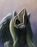 2012 armor blonde_hair cutie_mark derpy_hooves_(mlp) equine feather female feral friendship_is_magic hair mammal my_little_pony pegasus raikoh-illust simple_background solo wings yellow_eyes   Rating: Safe  Score: 28  User: 2DUK  Date: May 22, 2012