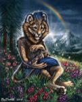 2018 4_toes ambiguous_gender anthro avian barefoot beak bird black_beak black_claws black_lips black_nose blue_fur blue_mane blue_markings brown_feathers brown_spots claws clothed clothing cloud countershade_torso countershading crossed_legs day detailed_background dexterlion digital_media_(artwork) digitigrade ear_markings facial_markings feathers feline feral flashw flower forest fur grass group hindpaw inner_ear_fluff lion long_mouth looking_down male mammal markings mountain nature no_sclera orange_eyes orange_flower outside pawpads paws plant purple_flower rainbow raining red_flower scenery shadow sitting size_difference sky snout snow socks_(marking) solo_focus spots spotted_feathers sunbeam sunlight tan_feathers tan_fur tan_mane toes topless tree two_tone_mane whiskers white_countershading white_furRating: SafeScore: 3User: MillcoreDate: February 12, 2018