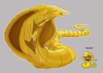 ambiguous_gender cobra fakémon farbokarbok grey_background half-closed_eyes hypno little-hofundur nintendo plain_background pokemon_fusion pokémon reptile scales scalie simple_background snake solo video_games yellow_body yellow_scales   Rating: Safe  Score: 1  User: slyroon  Date: September 06, 2013