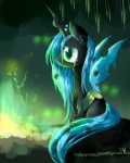 2013 aquagalaxy black_body changeling crying cub depressing female feral friendship_is_magic green_eyes green_hair hair hi_res horn insect_wings my_little_pony queen_chrysalis_(mlp) sad solo tears wings young  Rating: Safe Score: 15 User: Granberia Date: July 16, 2013
