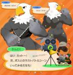 accipitrid accipitriform animal_crossing anthro apollo_(animal_crossing) avian bald_eagle beak bird bottomless canid canine clothed clothing eagle eyewear feathers hi_res japanese_text kemo_nuko male mammal muscular muscular_male nintendo nude raccoon_dog sea_eagle sunglasses tanuki text tom_nook_(animal_crossing) translation_request video_gamesRating: QuestionableScore: 6User: togepi1125Date: May 18, 2019