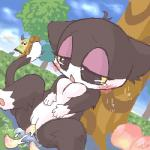animal_crossing blush breasts cat crossgender feline female insertion mammal nintendo no_nipples peach penetration punchy_(animal_crossing) pussy vaginal vaginal_insertion vaginal_penetration video_games   Rating: Explicit  Score: 5  User: Juni221  Date: March 06, 2014
