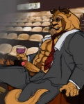 alcohol beast_(disney) beauty_and_the_beast beverage cigarette clothed clothing disney drinking eyewear food glasses holding_glass holding_object horn humanoid_penis male necktie open_shirt penis prince royalty shirt sitting smoking solo uncut unknown_artist wine  Rating: Explicit Score: 14 User: cookiekangaroo Date: November 18, 2011