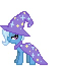 alpha_channel animated cape cool_colors desktop_ponies equine female feral friendship_is_magic horn horse my_little_pony plain_background pony solo sprite transparent_background trixie_(mlp) unicorn wizard_hat yamino   Rating: Safe  Score: 2  User: Señor_Ratman  Date: July 31, 2011