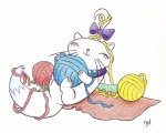 ball_of_yarn bow cat cute feline female feral friendship_is_magic hi_res mammal my_little_pony opalescence_(mlp) playful red_(artist) simple_background solo white_background yarn yarn_ball  Rating: Safe Score: 3 User: Skiltaire Date: June 07, 2011