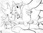 anal anal_penetration anthro anus balls bandai canine digimon duo fox grabbing_sheets hair lucario male male/male mammal max_blackrabbit nintendo penetration penis pokémon renamon spread_legs spreading video_games   Rating: Explicit  Score: 24  User: derptron5000  Date: May 24, 2013