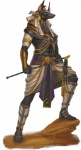 anubis canine clothing deity dungeons_&_dragons egyptian footwear jackal loincloth male mammal official_art pathfinder sandals solo staff unknown_artist  Rating: Safe Score: 13 User: SwiftNimblefoot Date: August 09, 2015