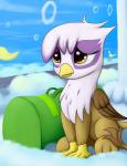 2015 avian cute female feral friendship_is_magic gilda_(mlp) grennadder gryphon hi_res my_little_pony solo young   Rating: Safe  Score: 7  User: Robinebra  Date: May 24, 2015