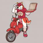 anthro balls bottomless canine clothed clothing coal_(artist) delivery_boy dog food humanoid_penis husky jake_grant male mammal penis pizza solo vehicleRating: ExplicitScore: 1User: PokelovaDate: April 29, 2017