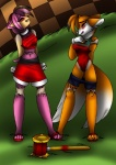 aakashi amy_rose anthro duo female gender_transformation male miles_prower sega sonic_(series) transformation   Rating: Questionable  Score: -1  User: Indycoone  Date: November 21, 2014