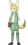 anthro canine cub female fennec fox girl_scout justvisiting mammal scout simple_background solo white_background young  Rating: Questionable Score: 2 User: faux Date: June 09, 2010