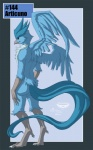 anthro articuno avian beak bird claws collaboration feathers hair legendary_pokémon male mingchee nintendo notorious84 nude plain_background pokémon pokémorph solo standing the_pokedex_project video_games wings   Rating: Safe  Score: 8  User: TheDigiFurFan  Date: November 26, 2012