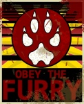 advertisement obey pawprint poster propaganda wearethew   Rating: Safe  Score: -4  User: WeAreTheW  Date: August 29, 2013
