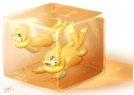 blue_eyes buizel cube cute duo green_eyes ivan-jhang male nintendo open_mouth plain_background pokémon smile underwater video_games water   Rating: Safe  Score: 12  User: David_Paw_2013  Date: June 08, 2013