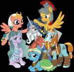 alpha_channel amarthgul armor equine female flash_magnus_(mlp) friendship_is_magic group horn horse looking_at_viewer male mammal meadowbrook_(mlp) mistmane_(mlp) my_little_pony pegasus pony rockhoof_(mlp) simple_background somnambula_(mlp) starswirl_the_bearded_(mlp) transparent_background unicorn wingsRating: SafeScore: 0User: ConsciousDonkeyDate: October 20, 2018