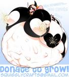 ! 2015 <3 abdominal_bulge absurd_res anthro bell belly big_belly big_breasts big_nipples black_fur black_hair black_nipples blonde_hair blush bovine breasts cattle collar ear_tag english_text female fur hair hazel_(madamsquiggles) hi_res hooves horn huge_breasts hyper hyper_breasts hyper_pregnancy lactating long_hair madamsquiggles mammal moozel multi_breast nipples nude open_mouth pink_nose pregnant saliva solo spots standing tail_tuft tears teeth text thick_thighs tongue tongue_out tuft white_fur white_hair white_nipples wide_hips  Rating: Questionable Score: 9 User: Fur_in_the_dark Date: May 11, 2015