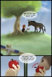 ambiguous_gender apple comic donkey duo equine feral fruit grass human male mammal spirit_pup transformation tree wood   Rating: Safe  Score: 5  User: TheDigiFurFan  Date: August 05, 2012
