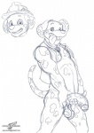 aged_up anthro anthrofied balls big_penis canine clothing colalr cub dalmatian digital_drawing_(artwork) digital_media_(artwork) dog feral flaccid headshot_portrait male mammal marshall_(paw_patrol) monochrome mostly_nude multiple_images paw_patrol penis portrait saggy_balls signature sketch solo tongue tongue_out uncut vest wolfblade young  Rating: Explicit Score: 7 User: Pokelova Date: October 04, 2015