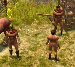 equine horse human male mod muscles nude polearm san_diavolo screencap shield spartan spear titan_quest   Rating: Explicit  Score: -1  User: msc  Date: August 21, 2010