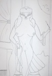 anthro avian bird breasts cigarette female femme_fatale grunge2001 hatta_mari looney_tunes monochrome navel nipples nude pigeon pinup pose pussy solo warner_brothers   Rating: Explicit  Score: 1  User: tpirman1982  Date: September 20, 2012