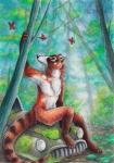 2015 arthropod butterfly coati forest insect male nude outside silentravyn solo tree  Rating: Safe Score: 3 User: TonyLemur Date: June 17, 2015