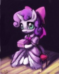 2013 clothing colored cub dress equine female friendship_is_magic green_eyes horn horse john_joseco my_little_pony pony raikoh-illust solo sweetie_belle_(mlp) two_tone_hair unicorn young   Rating: Safe  Score: 10  User: anthroking  Date: December 14, 2013