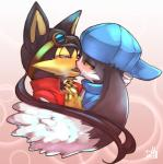 anthro blush canine comfort dog duo french_kissing guntz hug kissing klonoa klonoa_(series) love male male/male mammal passion shaolin_bones tears  Rating: Questionable Score: 6 User: Lionxie Date: February 05, 2016