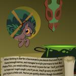 bitterplaguerat building earth_pony equine horse house kettle loki_(bitterplaguerat) mammal mask my_little_pony pony potion solo text yellow_eyesRating: SafeScore: 0User: Aryanne_HooflerDate: April 25, 2017