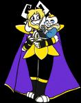 animated_skeleton anthro arcadeology armor asgore_dreemurr blush bone caprine clothed clothing crown duo goat male mammal sans_(undertale) size_difference skeleton undead undertale video_games  Rating: Safe Score: 4 User: Gasp20 Date: May 04, 2016
