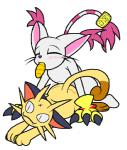 all_fours ambiguous_gender anal anthro cyanzangoose digimon doggystyle duo eyes_closed feline from_behind gatomon male mammal meowth nintendo plain_background plushie pokémon sex video_games white_background   Rating: Explicit  Score: 3  User: RocketSeason101  Date: February 22, 2014