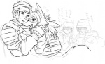 <3 anthro bandage bed blush canine cat drooling duo feline female fox gear happy human male mammal nezumi saliva simple_background soldier text tongue translated white_background  Rating: Safe Score: 17 User: Ko-san Date: January 07, 2011