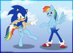 anthro duo equine female friendship_is_magic fusion hedgehog horse jen-foxworth male mammal my_little_pony pony rainbow_dash_(mlp) sonic_(series) sonic_the_hedgehog transformation  Rating: Safe Score: -7 User: Jookyloops Date: February 29, 2016