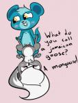 interspecies littlest_pet_shop male mammal mongoose not_a_furfag pepper_clark skunk sunil_nevla vaginal  Rating: Explicit Score: 0 User: Doorman2 Date: November 28, 2015