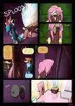 anthro applejack_(mlp) bathroom beverage comic dialogue english_text equine female fluttershy_(mlp) friendship_is_magic hair horse mammal multicolored_hair my_little_pony pegasus pink_hair pony rainbow_dash_(mlp) rainbow_hair sitting slypon soda text wet wings   Rating: Safe  Score: 0  User: TheHuskyK9  Date: April 26, 2015