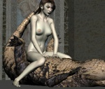3d_(artwork) alligator bestiality breasts brown_eyes brown_hair claws cowgirl_position crocodilian depraved3d digital_media_(artwork) female female_on_feral feral hair human human_on_feral interspecies legs_up lying male male/female mammal navel nipples on_back on_top reptile scalie sex straddling toe_claws watermark  Rating: Explicit Score: 3 User: dim-dragon Date: February 24, 2016