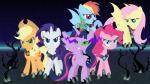 applejack_(mlp) armor bat_pony corruption cowboy_hat dashiemlpfim earth_pony elements_of_harmony equine female fluttershy_(mlp) friendship_is_magic group hat horn horse mammal my_little_pony pinkie_pie_(mlp) pony rainbow_dash_(mlp) rarity_(mlp) smile twilight_sparkle_(mlp) unicorn winged_unicorn wings  Rating: Safe Score: 10 User: darknessRising Date: May 26, 2014