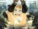 animal_ears blonde_hair blush canine convenient_censorship fangs female fox hair human nude open_mouth paprika_shikiso snail underwater water young   Rating: Questionable  Score: 20  User: Seven_Twenty  Date: December 28, 2012