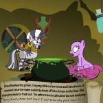 berry_punch_(mlp) bitterplaguerat earth_pony equine friendship_is_magic horse kettle loki_(bitterplaguerat) mammal mask my_little_pony pony potion text window yellow_eyes zecora_(mlp)Rating: SafeScore: 0User: Aryanne_HooflerDate: April 25, 2017