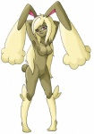 anthro female lagomorph looking_at_viewer lopunny mammal nintendo pink_eyes plain_background pokémon pokémorph pose solo twime777 video_games white_background   Rating: Questionable  Score: 4  User: slyroon  Date: August 10, 2013