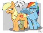 2015 applejack_(mlp) dialogue duo earth_pony english_text equine female feral friendship_is_magic horse mammal my_little_pony pegasus pony rainbow_dash_(mlp) strangerdanger suo text wings   Rating: Safe  Score: 30  User: Robinebra  Date: January 18, 2015
