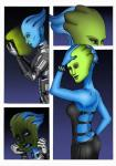 alien asari blue_eyes blue_skin breasts female humanoid liara_t'soni maskedwander mass_effect nomaxxn not_furry solo the_mask transformation video_games   Rating: Safe  Score: -5  User: Scrayn  Date: March 12, 2015