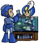 blue_eyes crossed_arms duo female humanoid ics machine male marine mechanical mega_man_(character) mega_man_(series) mermaid pouting robot splash_woman   Rating: Safe  Score: 6  User: Juni221  Date: September 17, 2014