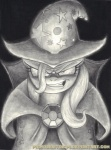 bloodshot_eyes cape clothing equine female feral friendship_is_magic grin hair hat hi_res horse insane looking_at_viewer mammal monochrome my_little_pony pony primogenitor34 smile solo trixie_(mlp)  Rating: Questionable Score: 2 User: Robinebra Date: July 23, 2013
