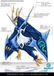 ambiguous_gender avian bird blades blue_body empoleon english_text nintendo penguin pokemon-fr pokémon solo text video_games   Rating: Safe  Score: 4  User: skrizzlez17  Date: December 02, 2012