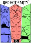 """a-side anthro bulge canine clothing comic crocodile feline girly group jockstrap lion magic_user male mammal muscles reptile scalie underwear wolf  Rating: Questionable Score: 1 User: The_Gazi_Pack Date: February 18, 2015"""""""