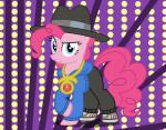 bling clothing equine female friendship_is_magic hat hoodie horse mammal my_little_pony pants pinkie_pie_(mlp) pony   Rating: Safe  Score: 2  User: darknessRising  Date: April 12, 2014