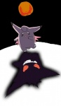 2012 ambiguous_gender claws clefable duo enon gengar moon night nintendo pokémon shadow toe_claws toes video_games   Rating: Safe  Score: 6  User: shaorune  Date: November 29, 2014